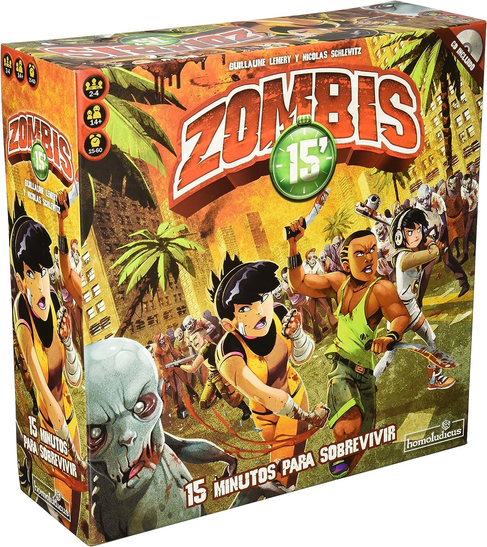 Devir - Zombies 15 (HLZOM): Amazon.es: Juguetes y juegos