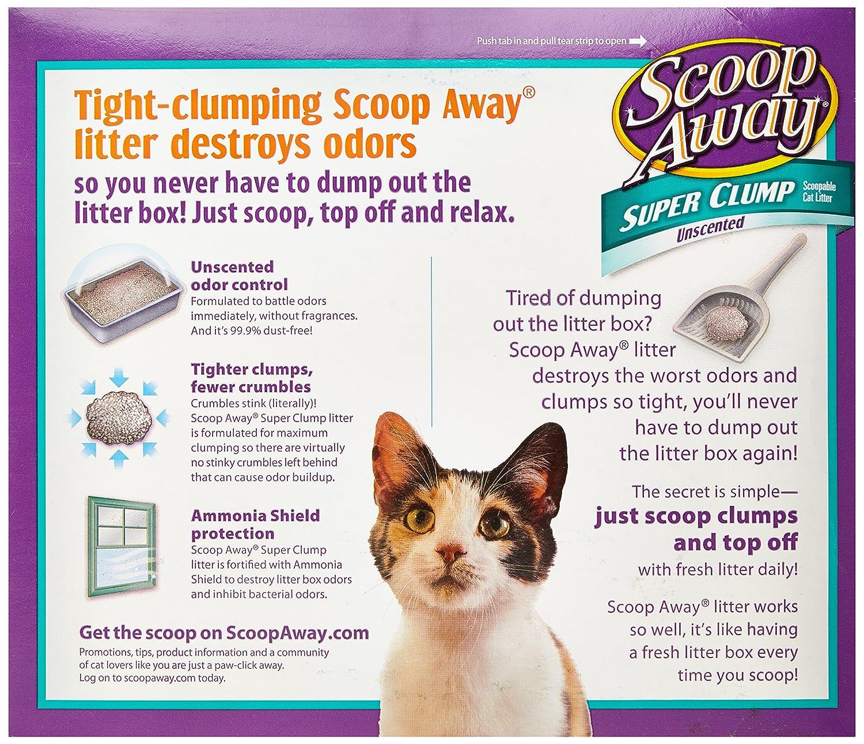 Scoop Away Odor Eliminator Cat Litter , 20 lb: Amazon.com: Grocery & Gourmet Food