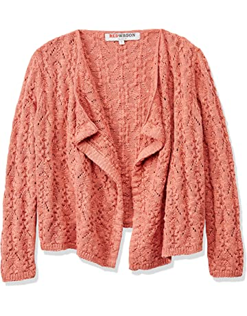 5e2973ab7 RED WAGON Girl s Pointelle Waterfall Cardigan