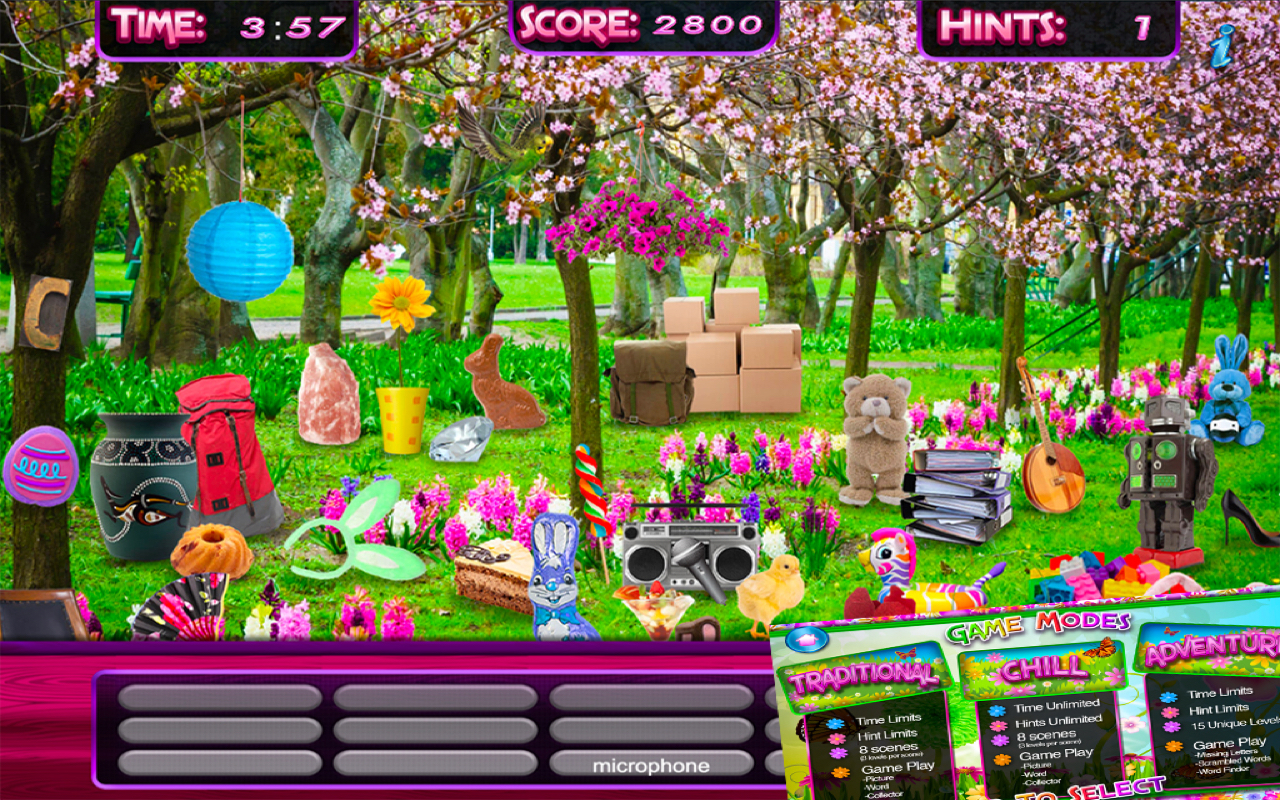 Amazon Com Hidden Object Spring Gardens Objects Time Easter