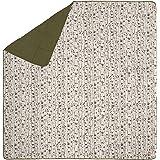 Kelty Biggie Blanket, Winter Moss/Aspen Eyes, 2-Person Blanket, Stuff Sack Included - Indoor/Outdoor Insulated Camping Blanke