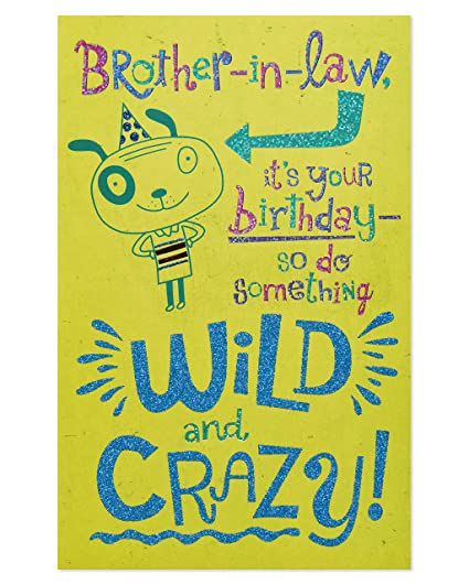 Amazon American Greetings Wild And Crazy Birthday Card For