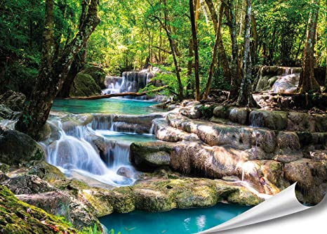 Pareti Con Cascate Dacqua : Ubbink cascata elemento niagara led parete con bianco caldo