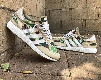 the best attitude 0e011 42e40 Amazon.com: WeTheBlueprint - Bape x Adidas NMD R1 Shoes - A ...