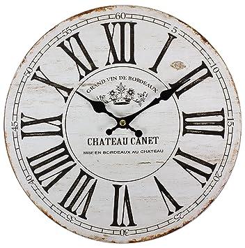 Perla PD Design vetro orologio da parete orologio al quarzo Vintage ...