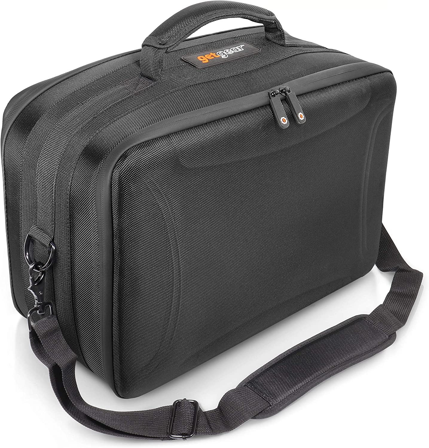 Olympus All Models Long Distance Panasonic for Canon EOS Wide Angel and Facial Nikon Sony EOS Rebel GETGEAR Professional All in one Camera case for up to 2 Cameras and Three Lenses