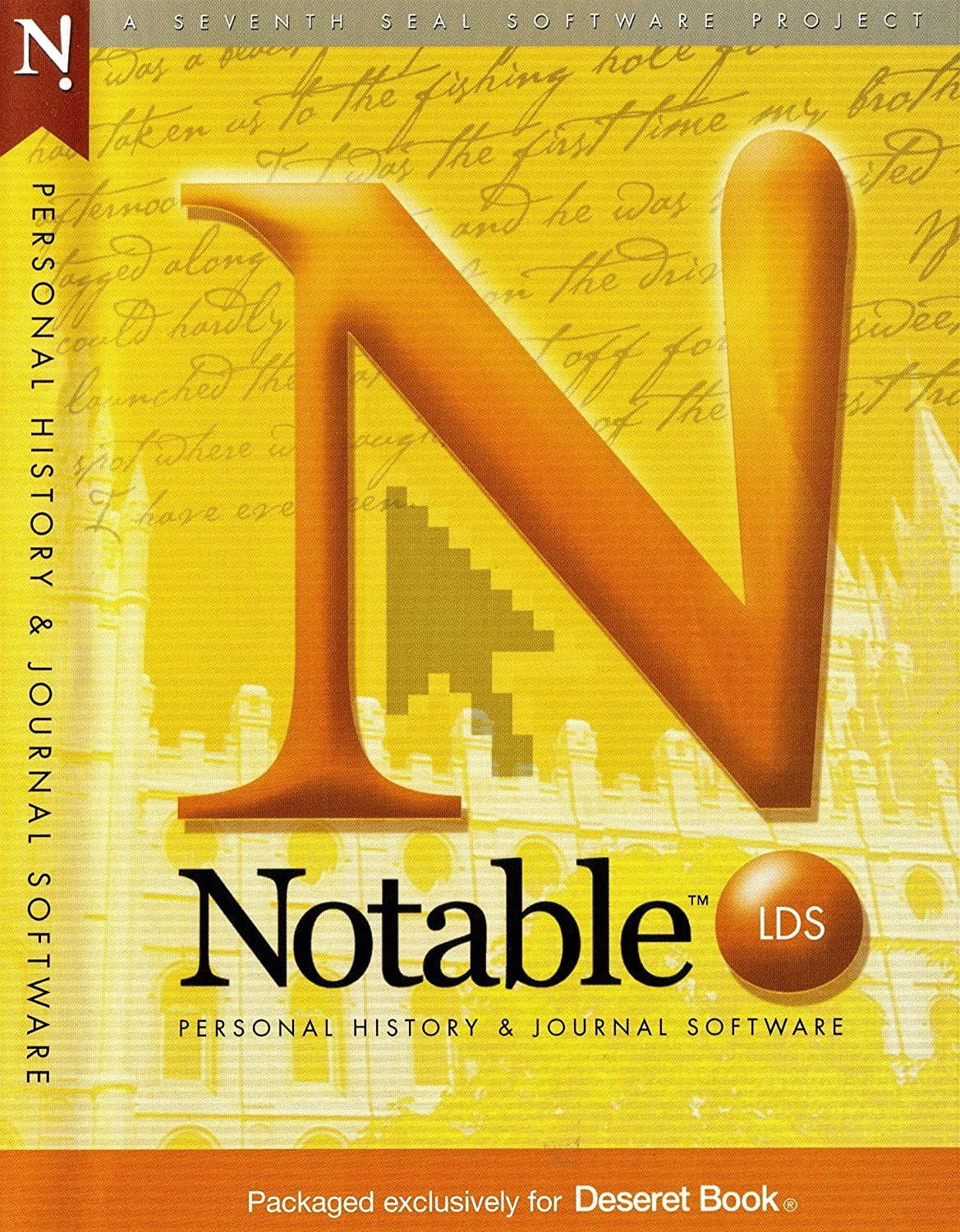 amazon com notable lds personal history journal software