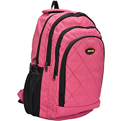 cd55fe8a6a New-Era Polyester 30 Litres Pink School Backpack  school bags for boys