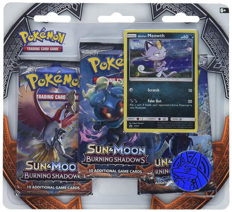 Burning Shadows 3 Booster Pack Blister Case Pokemon Sun /& Moon