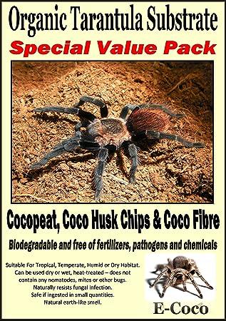 ORGANIC SUBSTRATE SOIL BEDDING FOR TARANTULAS, SPIDER TANK ... c33d2722c566