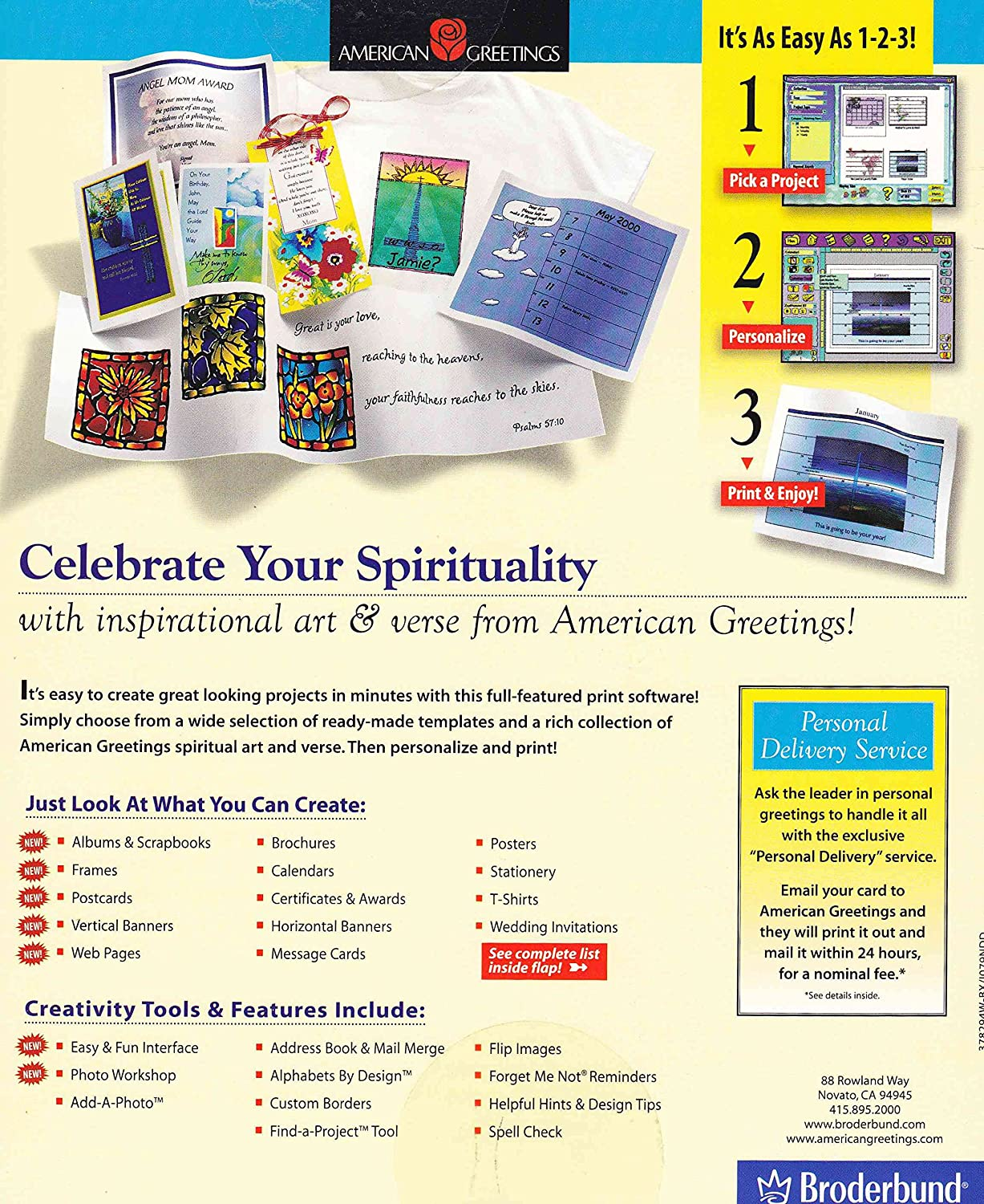 Amazon Spiritual Expressions 2 By American Greetings Win 9598