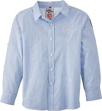 Camps - Camisa para niño, Talla 8 años (8), Color Azul (Bleu Nautic): Amazon.es: Ropa y accesorios