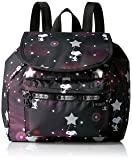 LeSportsac Women's Peanuts X Small Edie Backpack, Snoopy In The Stars