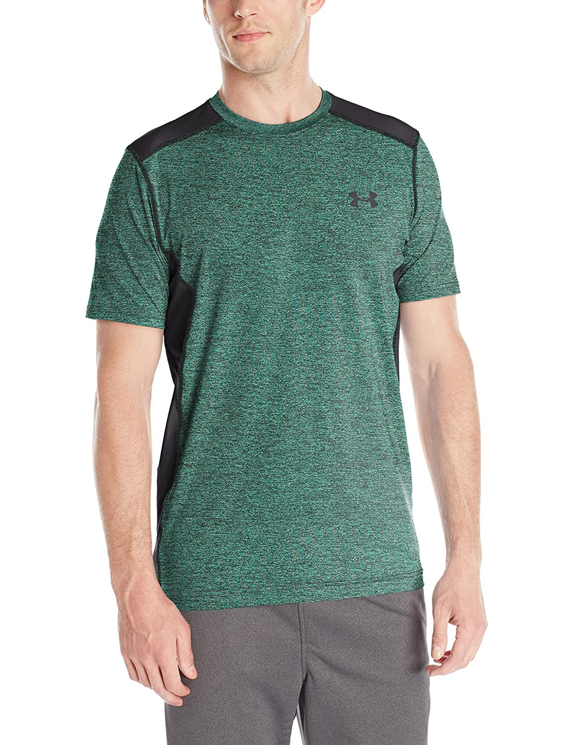 (アンダーアーマー) UNDER ARMOUR ヒットヒートギアSS(トレーニング/Tシャツ/MEN)[1257466] B016APQGSS XXXX-Large|Green Malachite/Black Green Malachite/Black XXXX-Large
