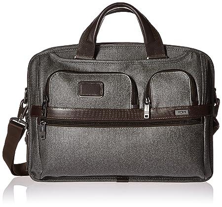 2c762620d Tumi Alpha 2 T-Pass Medium Screen Laptop Slim Brief, Earl Grey (Grey) -  026516EG2: Amazon.co.uk: Luggage