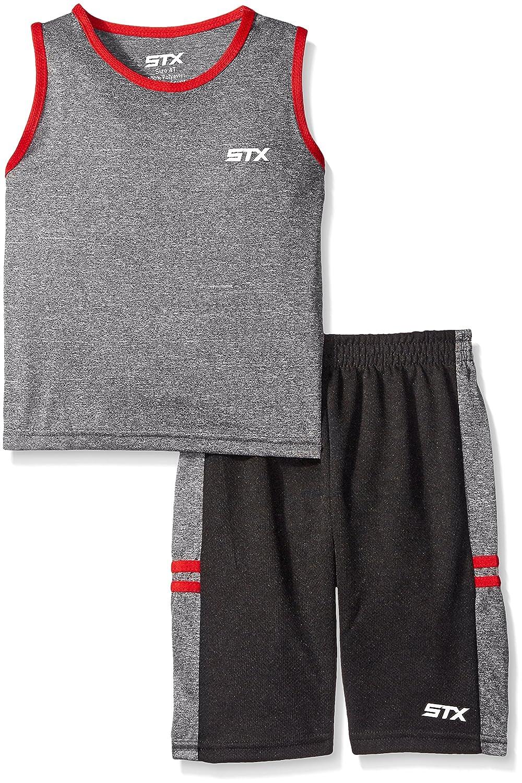 STX Little and Big Boys' 2 Piece Performance Athletic Tank and Short Set STX Boys TF28