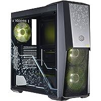 Cooler Master MasterBox MB500 Midi-Tower Negro - Caja de Ordenador (Midi-Tower, PC, De plástico, Acero, Vidrio Templado, Negro, ATX,Micro ATX,Mini-ITX, Juego)