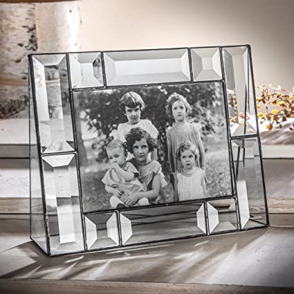 Amazon.com - J Devlin Pic 112-57H 5x7 Crystal Glass Picture Frame ...