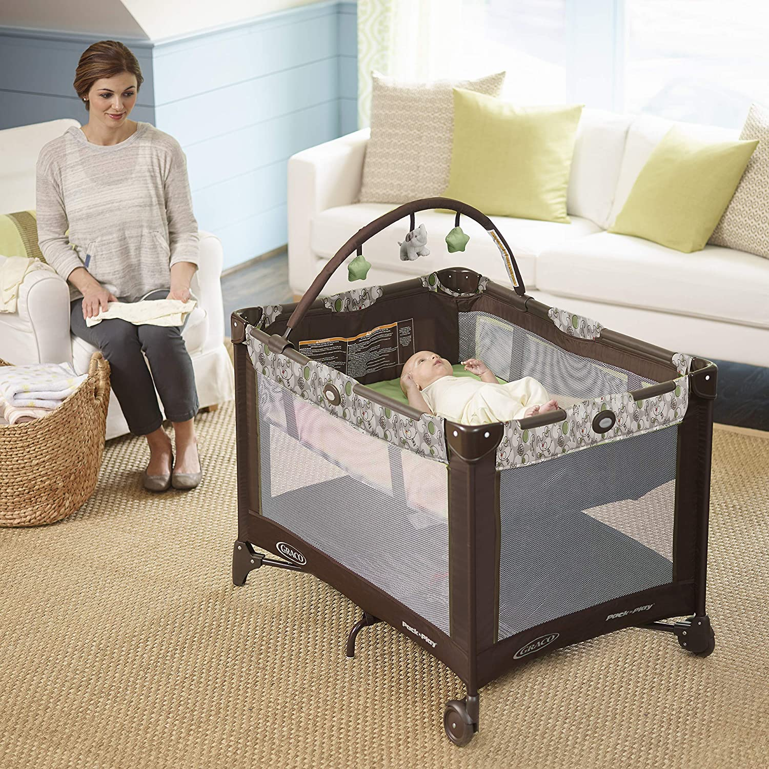 Zuba Graco Pack N Play Playard with Automatic Folding Feet