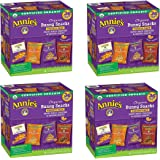 Annies Organic Variety Pack, Cheddar Bunnies and Bunny Graham Crackers Snack Packs, 36 Pouches, 1 oz Each hFIWbU, 4 Pack