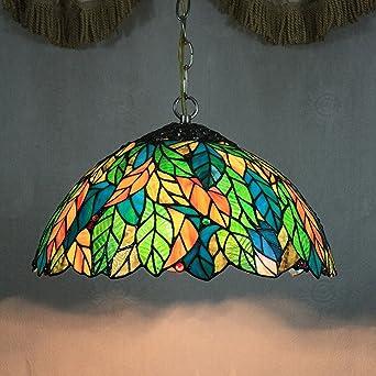 TOYM UK-16 pulgadas Continental Tiffany cadenas de lámparas ...