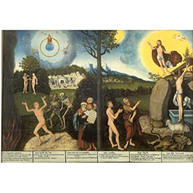Law and Grace by Lucas Cranach the Elder