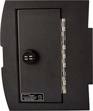 Lock/'er Down Console Safe with 4 Digit Combo Compatible with 2009-2014 Dodge Ram Pickups