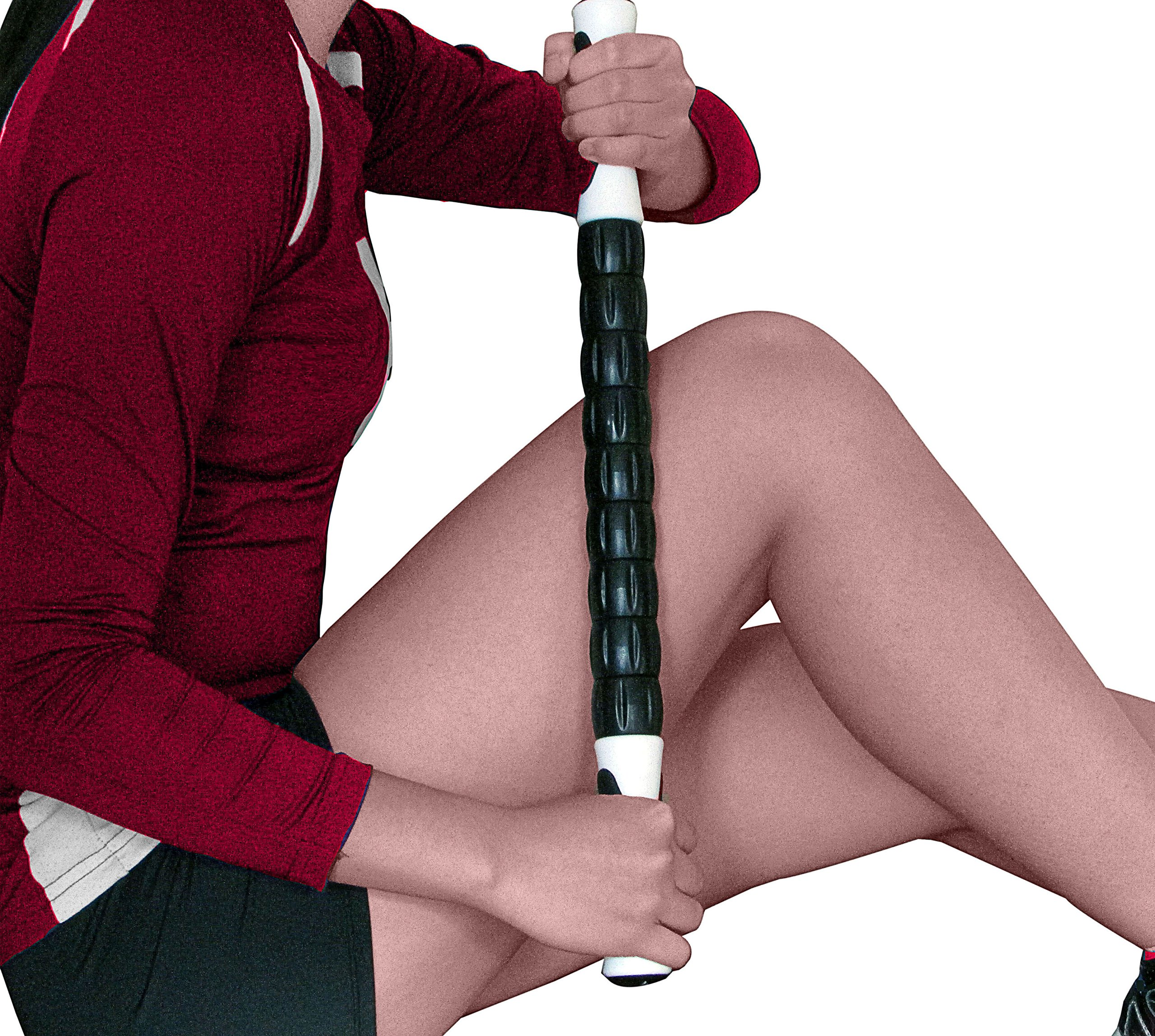 Top Rated Muscle Roller Massage Stick: A Sports Body Massager Tool-Release Myofascial Trigger Points, Reduce Muscle Soreness, Tightness, Leg Cramps and Back Pain, Rub Muscle for Relief and Recovery