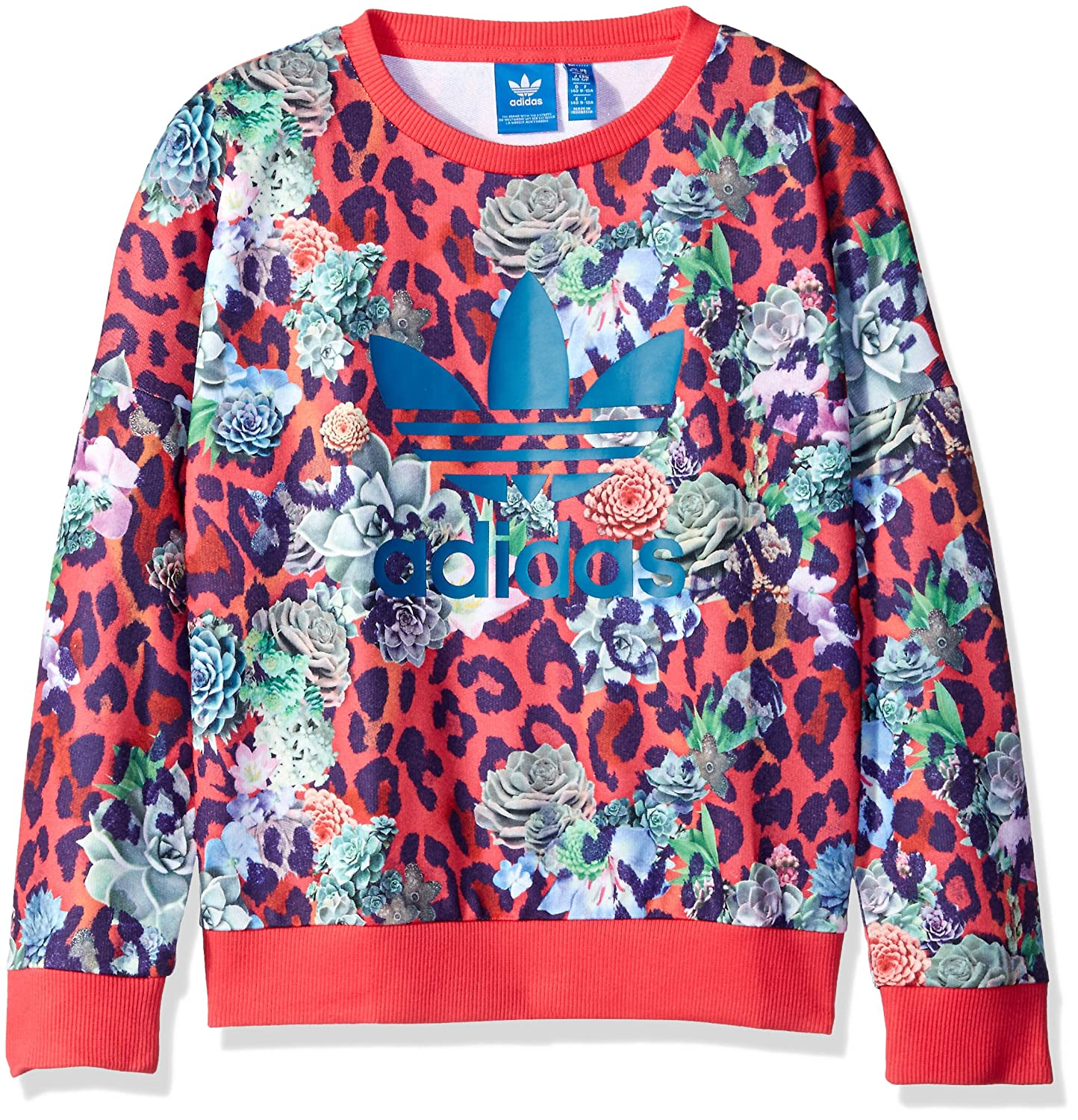 adidas Originals Girls' Trevoil Sweatshirt OJF16250807GA