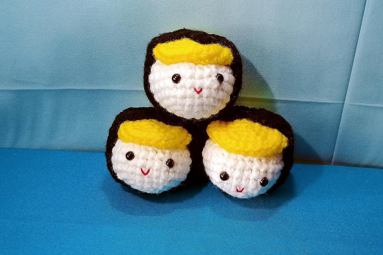 Amigurumi Crochet Sushi Crochet Tutorial – Amigurumi Food ... | 998x1500