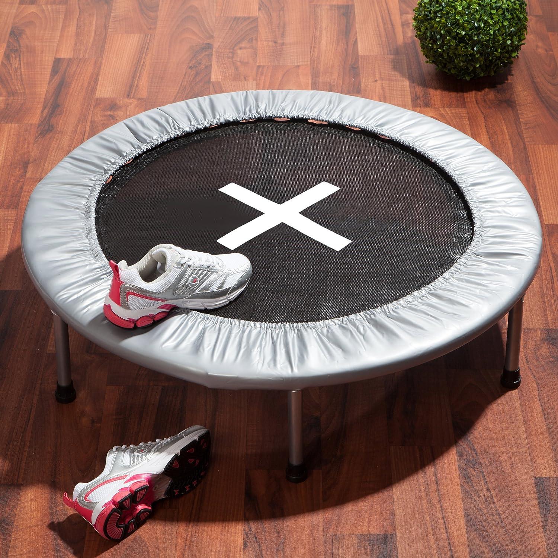 Ultrasport Jumper Trampolin 96 cm, faltbares Trampolin inkl ...