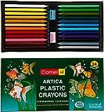 Camel Plastic Crayons - 24 Shades