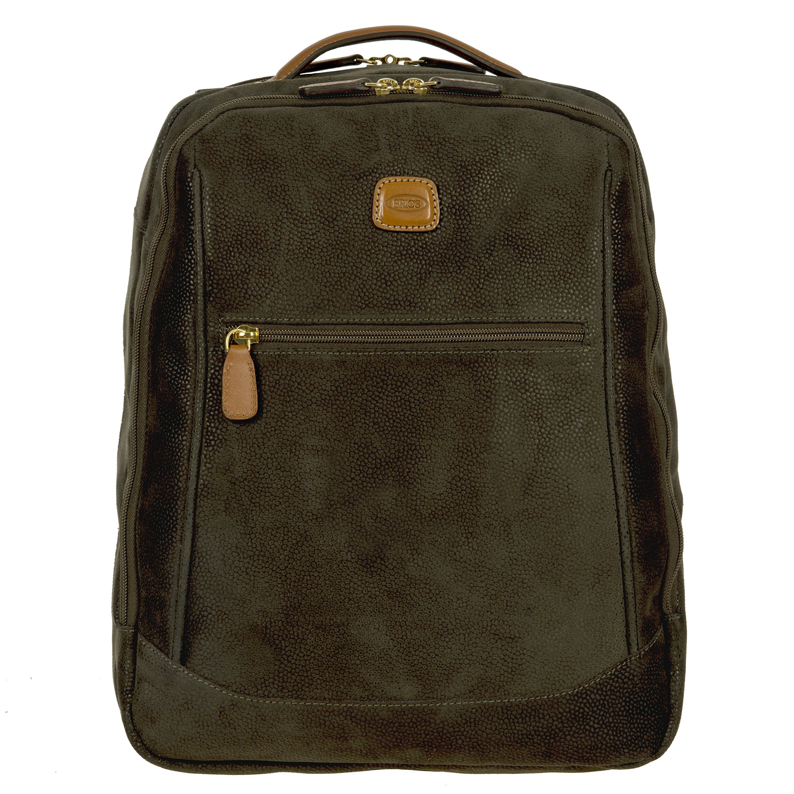Bric's Life Director Laptop|Tablet Medium Business Backpack, Olive by Bric's