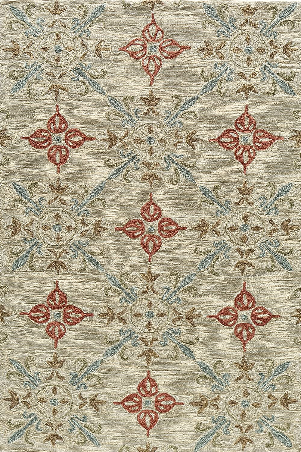 Momeni Rugs SUMITSUM-1SND2376 Summit Collection, Hand Knotted Transitional Area Rug, 2'3' x 7'6' Runner, Sand 2'3 x 7'6 Runner Inc DROPSHIP