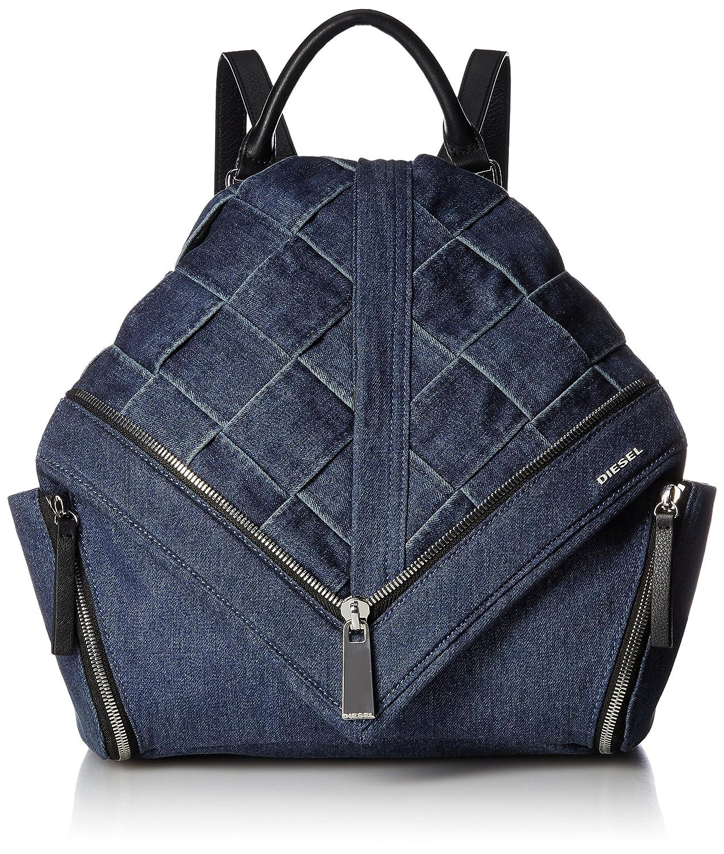 (ディーゼル) DIESEL LE-ZIPPER LE-MHONIC backpack X05169P0981 B0772G8H7Zインディゴブルー UNI (Free)