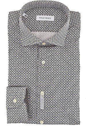 El Hombre de la Camisa de Slimfitt Cuello francés de diseño ...