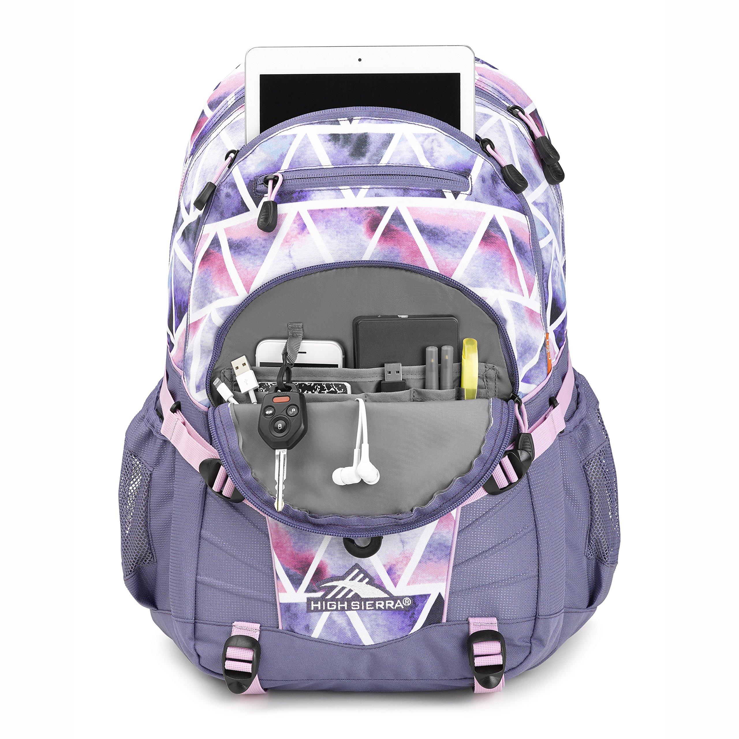 High Sierra Loop Backpack Dreamscape/Purple Smoke by High Sierra (Image #4)