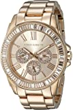 Vince Camuto Women's VC/5158RGRG Swarovski Crystal Accented Multi-Function Dial Rose Gold-Tone Bracelet Watch