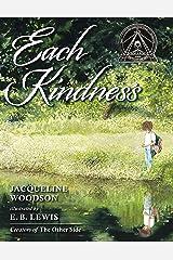 Each Kindness (Jane Addams Award Book (Awards)) Hardcover