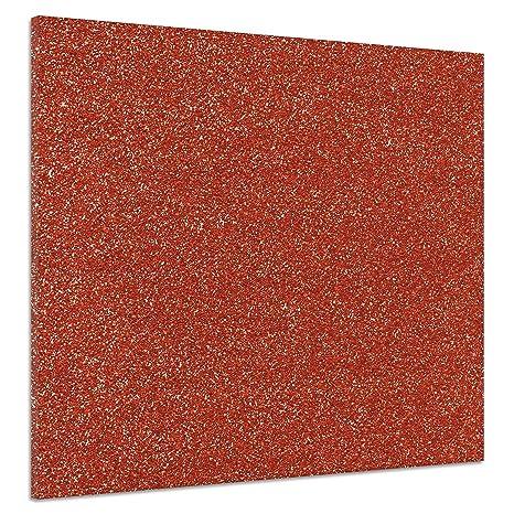 Brillano Sfondo Rosso Astratto Natale Poster Tela Stampa Immagine