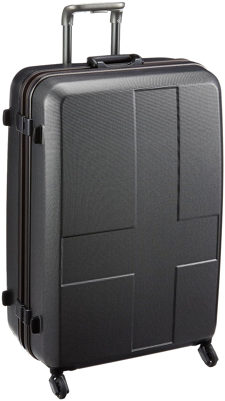 [イノベーター] | ハードキャリー フレーム | | TSAカードロック | 消音キャスター | 便利アイテム付き | 保証付 90L 69 cm 4.8kg B073JCJ1XP ブラッククロスカーボン