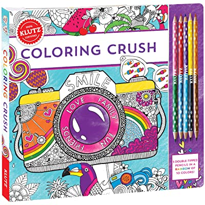 Klutz Coloring Crush: Scholastic: Toys & Games