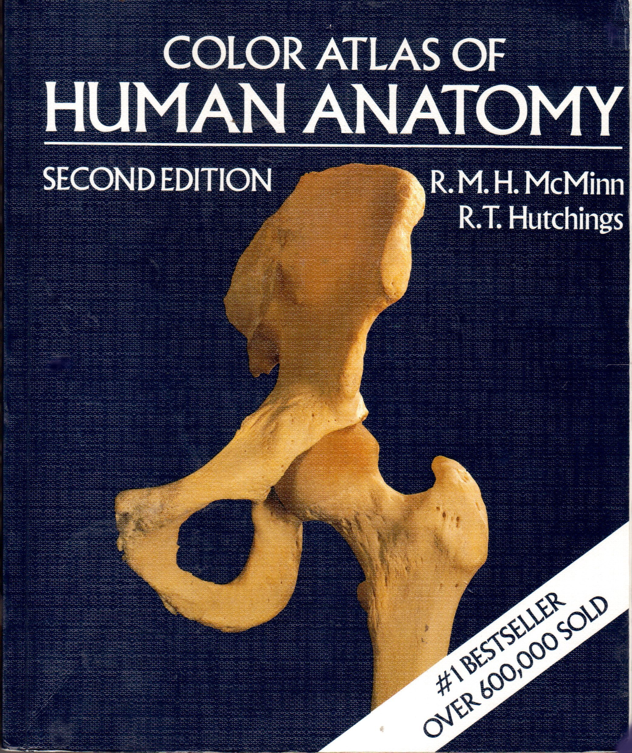 A Color Atlas Of Human Anatomy H R M Mcminn R T Hutchings