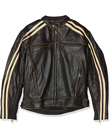 Australian Bikers Gear Retro Style  The Bonnie  - Chaqueta de moto 781cecb442f0