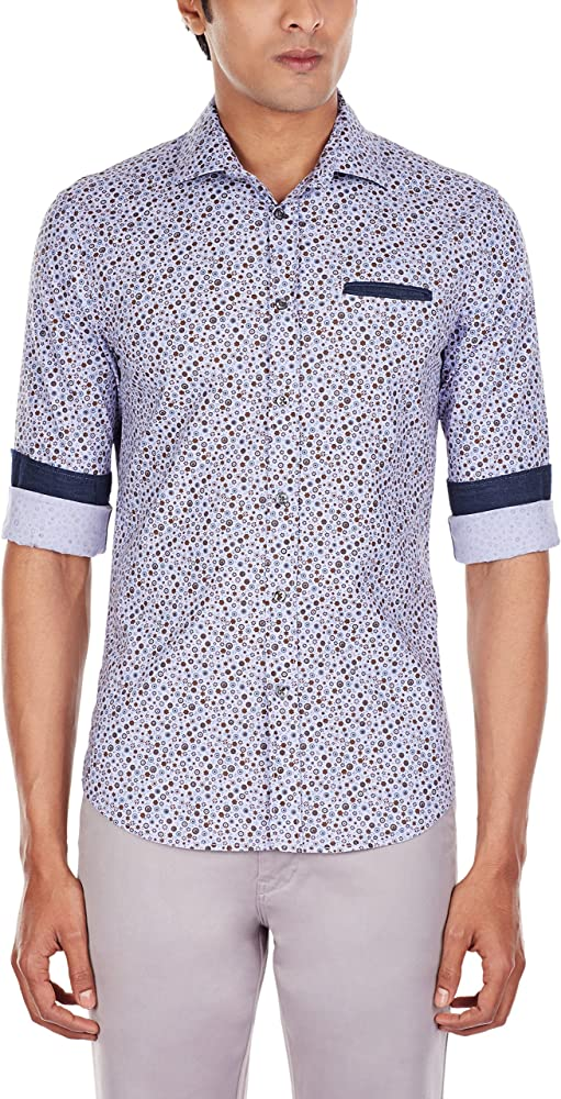 GAS Camisa Hombre Sasha Multicolor L: Amazon.es: Ropa y accesorios