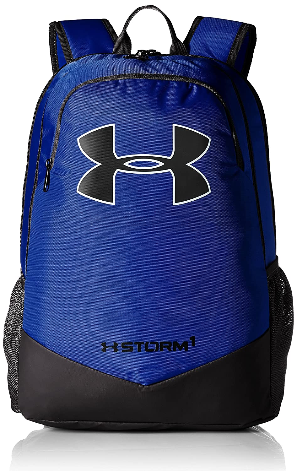 Under Armour Boy's Storm Scrimmage Backpack Black (001)/Silver One Size Under Armour Bags 1277422