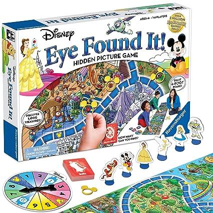 Amazon.com: Juego de mesa World of Disney Eye Found It: Toys ...