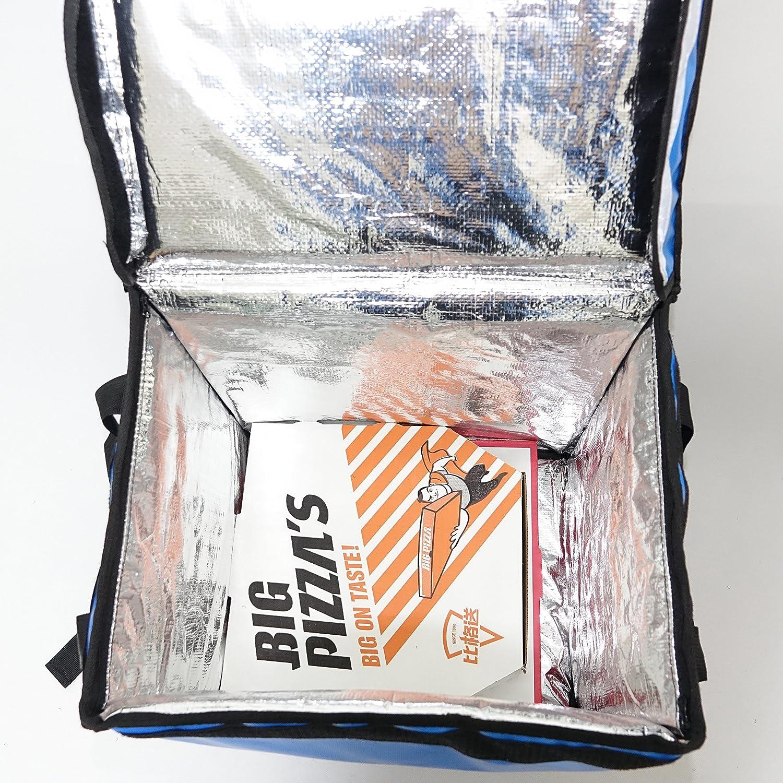 40,6 x 30,5 x 45,7 cm PK-66VB Thermo-Rucks/äcke f/ür Lebensmittel L x B x H mit Klettverschluss