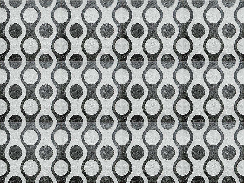 multicolor Poliestireno de pared decorativos paneles de techo azulejos Breez BS 500 x 500 mm