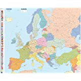 Carte Plastifie Roule Europe